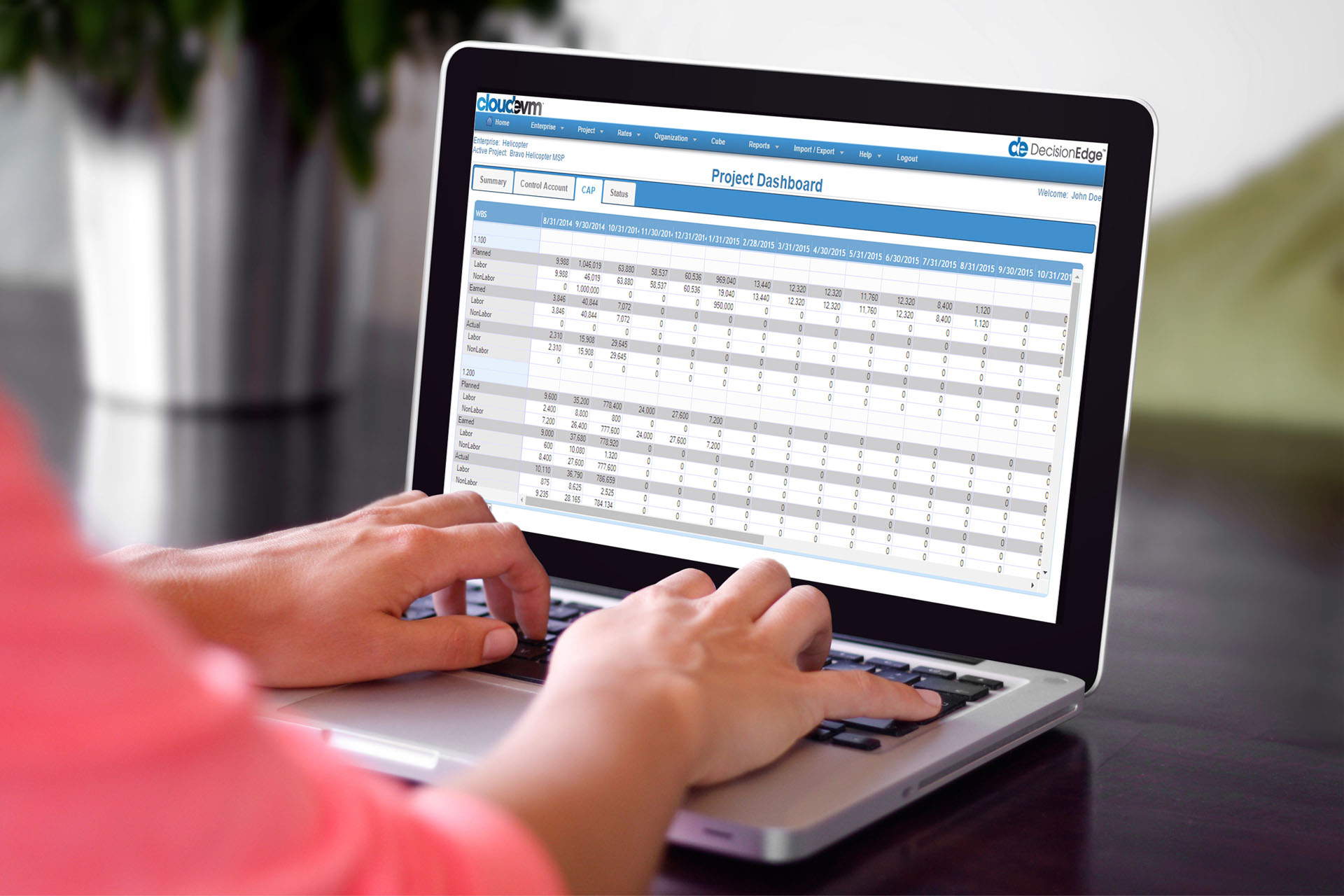 CloudEVM - Earned Value Management Software